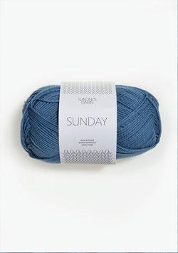 Sandnes Sunday Fb 6042 Mittleres Blau