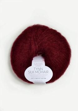 Sandnes Tynn Silk Mohair Fb 4054 Dunkles Weinrot
