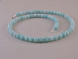 Armband und Halskette - Amazonit - 925er Silber