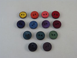 Knopf aus gefärbtem Kokos 51mm