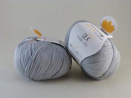 Regia Premium Silk 00051 Silbergrau