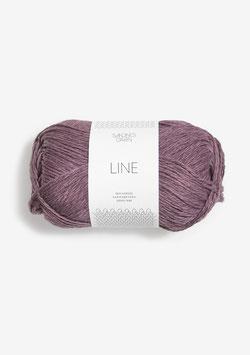 Sandnes Line Farbe 4361 Helle Aubergine