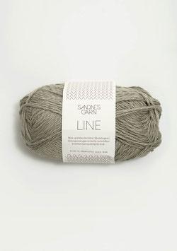 Sandnes Line Farbe 2340 Grau-Oliv
