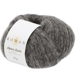 Rowan Alpaca Classic Farbe 102 Charcoral Melange