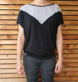 Wende Shirt schwarz