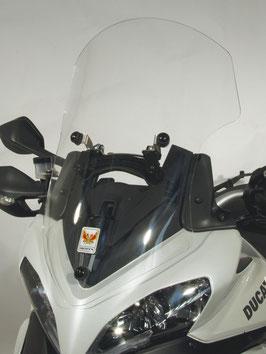 Windschild Ducati Multistrada  - hoch