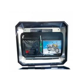 Dokumententasche für Koffer-/ Topcasedeckel
