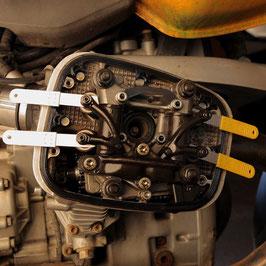 4er Satz Ventillehre für BMW 4V-Boxer 850 - 1100 - 1150 - 1200 (nicht LC)