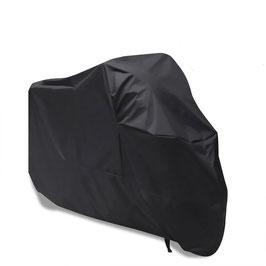 Motorrad Abdeckplane - schwarz