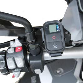 Halter für GoPro Fernbedienung BMW Spiegelaufnahme