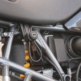 Helmschloss - abschließbar - für die BMW R 1200 GS LC und Adventure LC