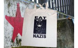 Stofftasche EAT NAZIS