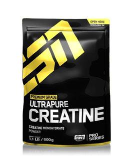 ESN Ultrapure Creatine Monohydrate, 500g Beutel