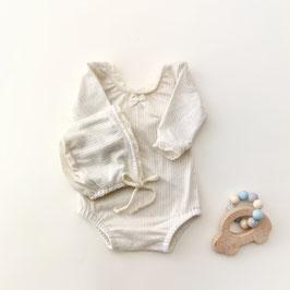 2-teiliges Set, Body mit Häubchen