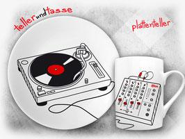 plattenteller - DJs und Musikfans freuen sich über dieses tolle Geschenk!