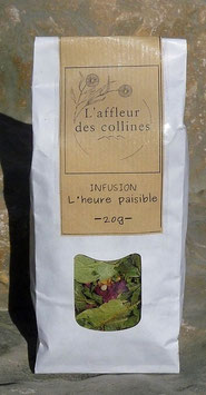 "Infusion ""L'heure paisible"""
