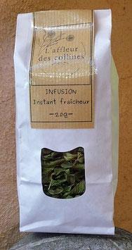 """Infusion """"Instant fraîcheur"""""""