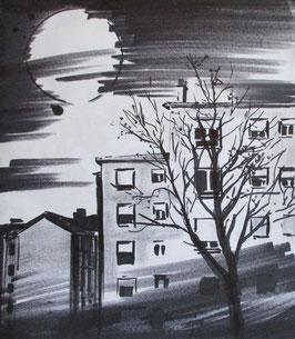 """""""Atardecer desde el parque"""", Alfonso Martín"""