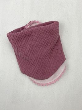 Halstuch Musselin (rosa)