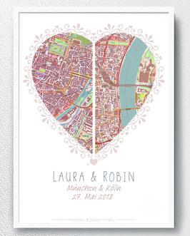 Hochzeitsgeschenk Brautpaar