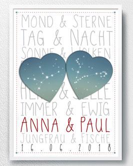Sternzeichen - Poster - ab 13,90 €