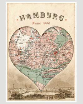 HAMBURG anno 1890 - 9,90 €