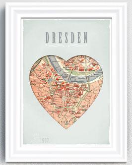 DRESDEN - anno 1907 - 9,90 €