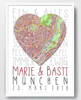Poster Sprüche, Brautpaar - ab 14,90 €