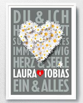 Hochzeitsgeschenk - Du & Ich - ab 13,90 €
