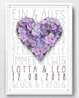 Hochzeitsgeschenk Poster - ab 13,90 €
