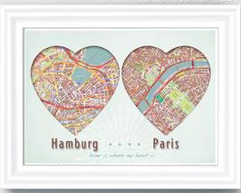 2 Wunsch-Städte - ab 12,90 €