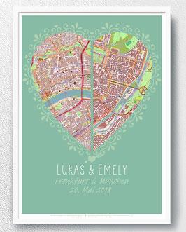 Poster Brautpaar