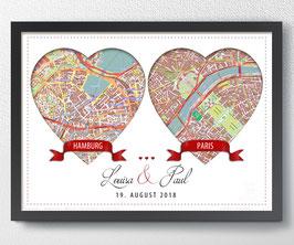 Zur Hochzeit, personalisiert - ab 14,90 €