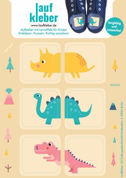 Laufkleber Dinosaurier