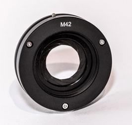 Irisblende mit Anschlußgewinde M42