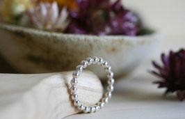 Kügelchenring, Silber, 3mm