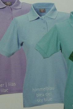 Polo himmelblau, 220 g/m² beste Qualität