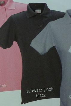 Polo schwarz, 220 g/m² beste Qualität