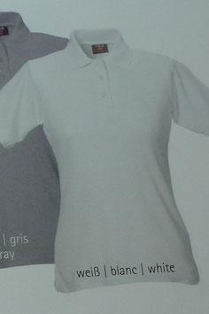 Polo weiß, 220 g/m² beste Qualität