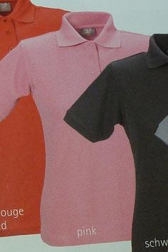 Polo pink, 220 g/m² beste Qualität