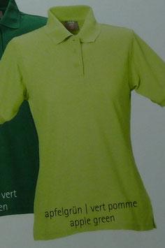 Polo apfelgrün, 220 g/m² beste Qualität