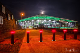 Foto mit Passepartout, Motiv siehe Foto, Bild-Nr. 2019_1069_VW-Arena_