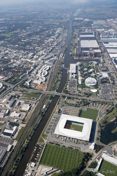 Wolfsburg von oben, Foto-Nr. 2017_1242