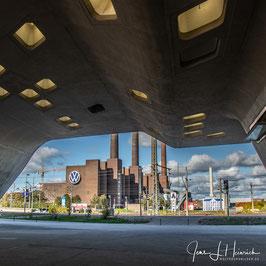 Phaeno und Kraftwerk, Foto-Nr. 2019_1206_Q