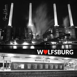 Kraftwerk und Hauptbahnhof, Foto-Nr. Q2WOB