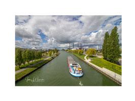 Foto mit Passepartout, Motiv siehe Foto, Bild-Nr. 2020_1175_Blick von Berliner Brücke