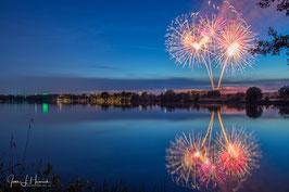 Feuerwerk überm Allersee, Foto-Nr. 2019_0816