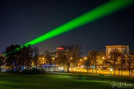 Laser über Wolfsburg, Foto-Nr. 2020_2443