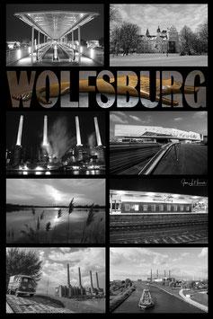 Wolfsburg-Collage, Foto-Nr. C01_WOB hochkant