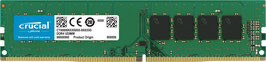 Crucial 8GB DDR4 2400 MT/s (PC4-19200) SR x8 DIMM 288-Pin - CT8G4DFS824A